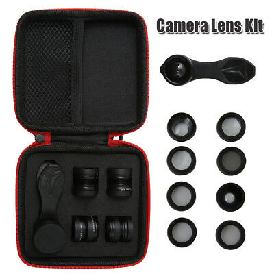 10 In 1 Cell Phone Camera Lens Kit Clip On Lenses For Iphone Most Smartphone