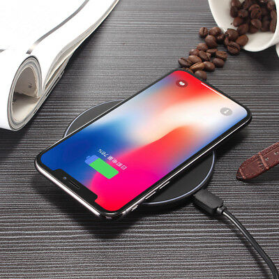 K8 Wireless Fast Charger Charging Stand Dock Ergonomic Design Phone Plate Pad