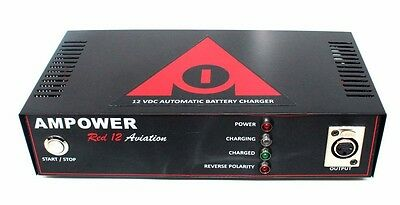 5 Pcs AMPOWER Red 24 Aviation Automatic Battery Charger Bench Unit