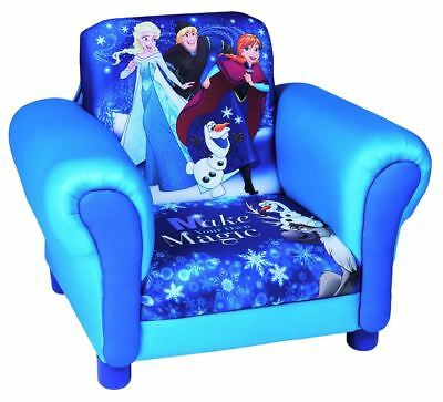 Global Industry Disney Frozen Upholstered Chair, Kids Arm Chair With ANNA & ELSA