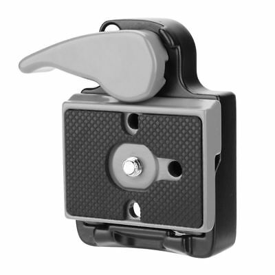 """Tripod Mini Quick Release Plate Clamp Adapter Plate 1/4"""" Screw for DSLR Cameras"""