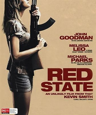 Red State (Blu-ray, 2012) Brand New, Genuine & Sealed  - Free Postage Aust D40