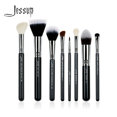 Pro Professional Make Up Brush Set Jessup Powder Eyeshadow Contour Cosmetic 8Pcs