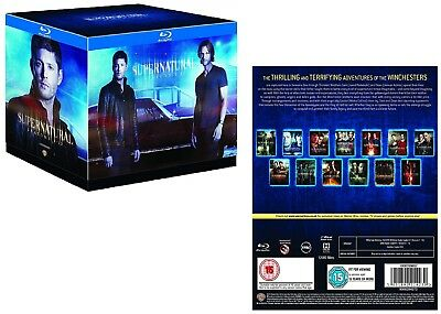 SUPERNATURAL 1-13 (2005-2018): Horror Demons TV Season Series -  Rg Free BLU-RAY