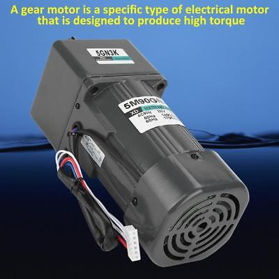 5M90GN-C Gear Reduction Motor CW/CCW Motor with Gearbox Governor AC 220V 90W hon
