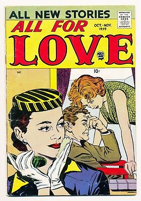 All for Love Vol. 3 (1959/07-1960 Prize) #3 FN+ Hard to find