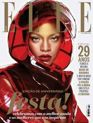 ELLE Magazine Portugal October 2017 Rihanna NEW