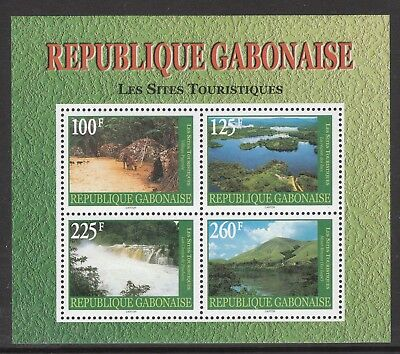 Gabon 2000 Tourist Pristine Mnh/muh Mint Stamp Sheet