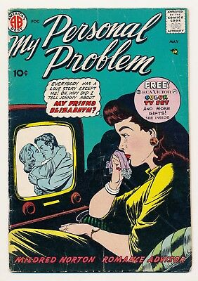 My Personal Problem (1957-58 Steinway) #3 VG/FN Last issue in series, HTF
