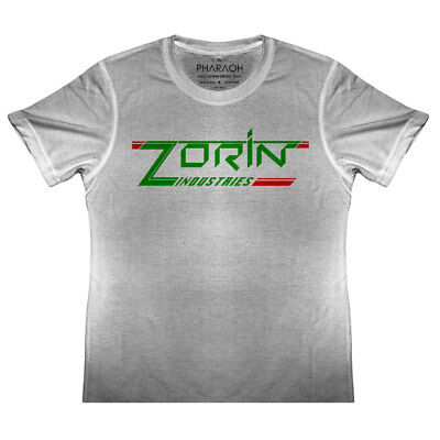 /'Zorin Industries/' A View to a Kill James Bond Movie Funny T-shirt Tee