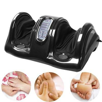 Electric Foot Massager Shiatsu Deluxe Machine Circulation Blood Booster W Remote