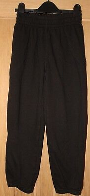 BOYS elasticated Black joggers AGE 9-10 years BHS plus free pair ideal for play