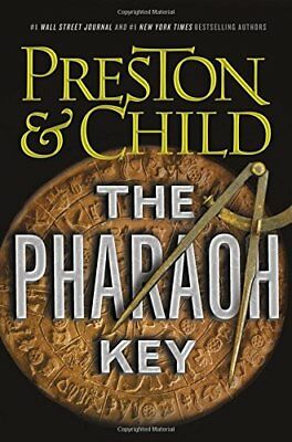 The Pharaoh Key by Douglas Preston and Lincoln Child (2018, Hardcover)