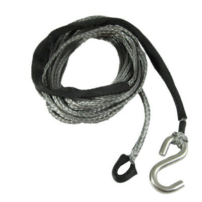 3mm X 6m Dyneema SK75 Winch Rope S Hook - Spectra Boat Marine Cable Webbing