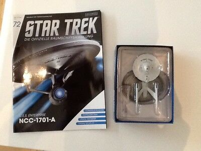 Star Trek / Eaglemoss - Ausgabe 72 (N.C.C.1701-U.S.S. Enterprise A)