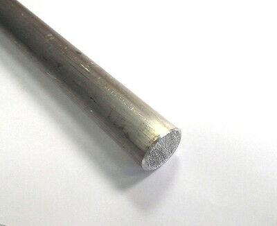 "Aluminum 6061 T6511 Round Rod 1"" Diameter X 12"" Long (1)"