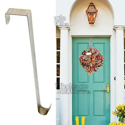 Christmas Wreath Door Hanger Secure Strong Metal Hook Xmas Decoration 28cm Reef
