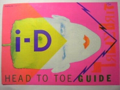 I-D Magazine No.8 Printer's proof. (mint condition) Oct.1982 FRONT COVER
