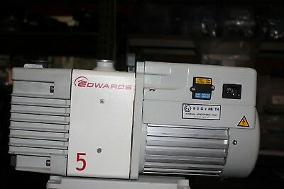Edwards 5 Vacuum Pump Works Well Vacuum Created And Functions Satisfactorily