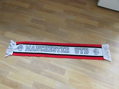 Original Early Style MANCHESTER Utd / United FOOTBALL Team Scarf