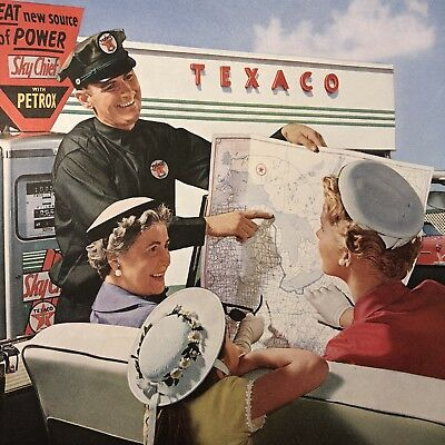 "Texaco Dealers ""Mr. Service""- Evening Post Paper Advertising, 1956 Original Ad"