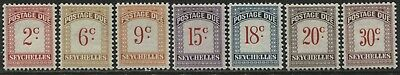 Seychelles Islands complete set of Postage Dues mint o.g.