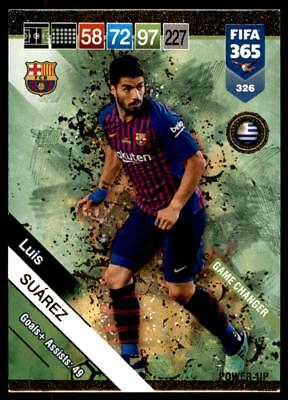 Panini FIFA 365 2019 Adrenalyn XL Suárez Barcelona POWER-UP: Game Changer No.326
