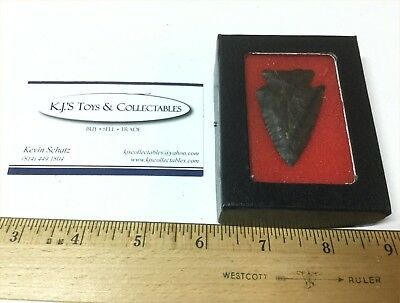 Coshocton Knife Arrowhead Point Found in Hardin Co Ohio Native American Artifact