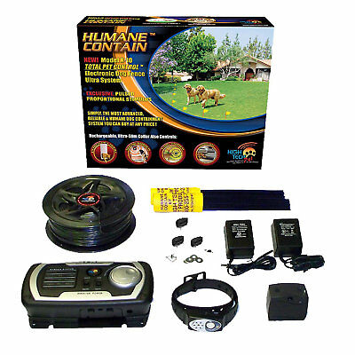 High Tech Pet Premium Multi-Function Electric Fencing/Containment System for