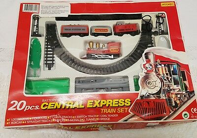 Central Express Train Set Moonbo Zug set