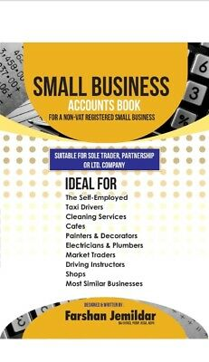 The Best Small Business Accounts Book (Orange version): For a non-VAT...