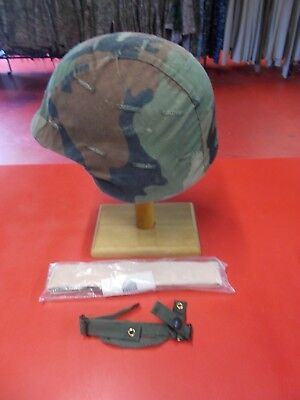 PASGT Helmet  Liner & Woodland Cover X Small