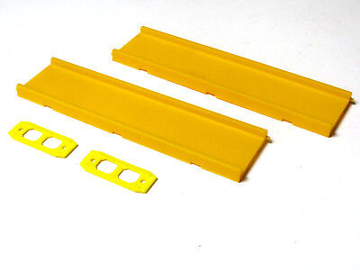 2 x Faller O gauge 3211 straight roadway track for 'Hit Car' with joiners