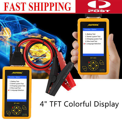 12V LCD Auto Battery Tester Analyzer Tool Car Flooded GEL AGM GEL 30-1700 CCA AU