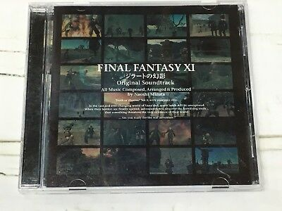 ALCA-8200 Final Fantasy XI Rise of the Zilart Original Soundtrack Alion Records