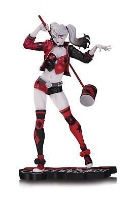 DC Comics Harley Quinn Red White & Black Statue By Philip Tan