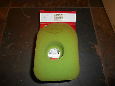 NOS Briggs and Stratton OEM  AC Foam Filter 270579S 270579 S