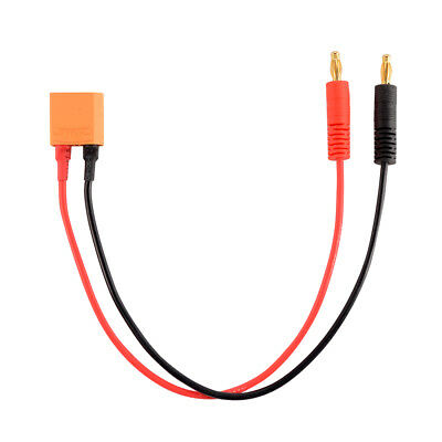 Charger Cord Leads XT90 Male Connector to 4mm Banana Plug Wire 16AWG Cable RC721