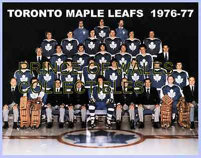 1977 Toronto Maple Leafs Team Photo 8X10