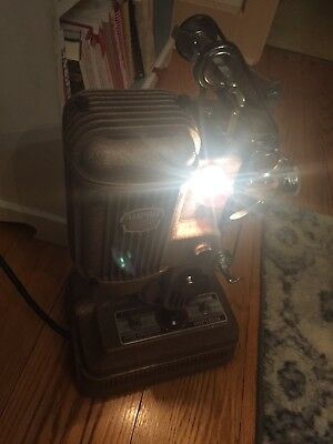 Vintage Ampro Imperial Precision 16MM Silent Film Projector 750