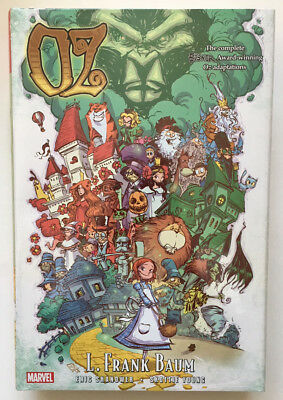 OZ Omnibus L. Frank Baum Harcover HC Skottie Young *Brand New/Sealed* $125 Cover