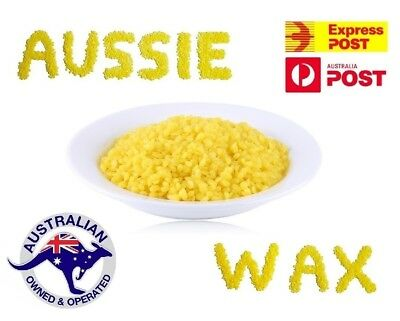 Pure Organic Australian Beeswax Pellets Food Wrap Beads Candle Soap Bees Wax