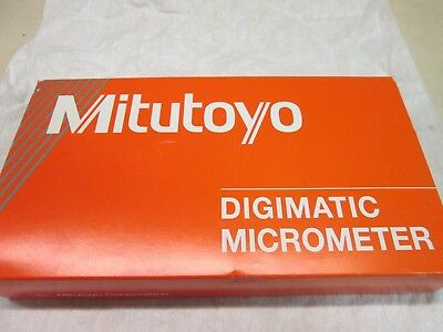 """Mitutoyo Digimatic Outside Micrometer, 1-2"""" Range -.00005"""" Resolution-MDC-2"""" PX"""