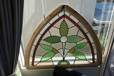 Stained Glass Windows Pair