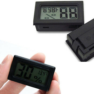 Mini Indoor Temperature Humidity Meter Thermometer Hygrometer Digital LCD RD0567