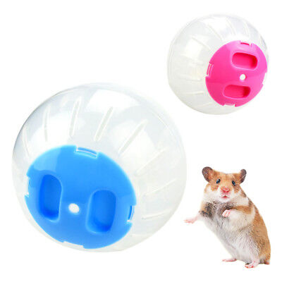 Pink/Blue Small Pet Exercise Ball Hamster Gerbil Running Activity jogging Toy