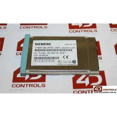 Siemens 6ES7 952-0KF00-0AA0 SIMATIC S7 MC952 Memory Card, 64KB - Used