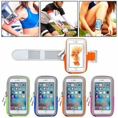 Sports ArmBand Bag Arm Band Case Running Pouch Jogging For IPhone 6 S6 Plus CU