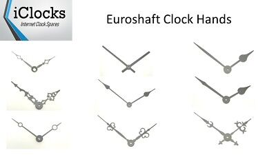 New Replacement Quartz Euroshaft Metal Clock Hands For Clock Movement mechanism