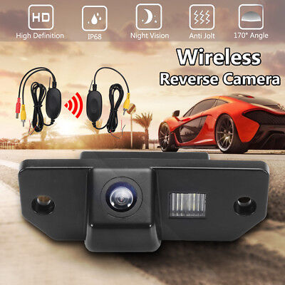Auto Ir Wireless Retromarcia Telecamera Retrocamera Per Vw Ford Focus Sedan
